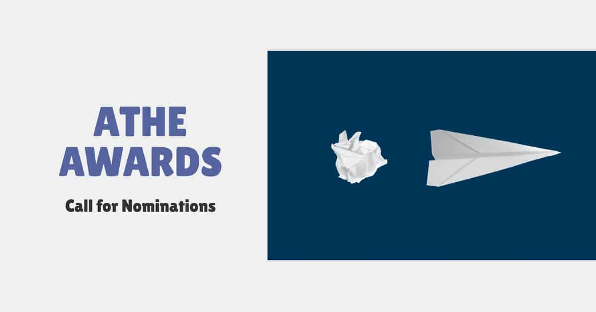 ATHE Awards for Innovation 2020 – Call for Nominations